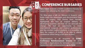 conference bursary sara